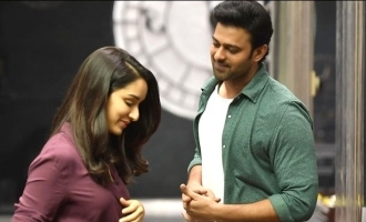 Shraddha and Prabhas celebrate one year of 'Saaho' posting pictures on Insta!
