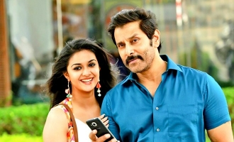 Vikram-Keerthy Suresh give an unexpected surprise to fans