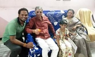 ரசிகருக்கு விஜய் பெற்றோர் கொடுத்த இன்ப அதிர்ச்சி: வைரலாகும் வீடியோ