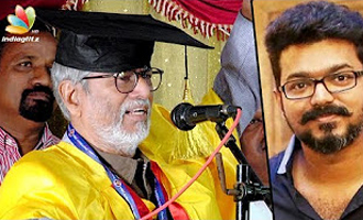Indraya Thondan Nalaya Thalaivan : Director SA Chandrasekhar receives doctorate