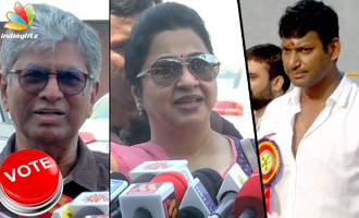 UNCULTURED people involved in Producer Council Election : SAC, Radhika against Vishal Team