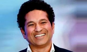 Sachin Tendulkar praises this legend for achieving a record!