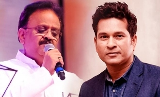 Sachin tweet about SPB with mention kamal song