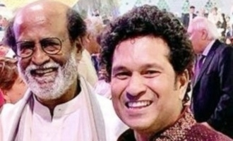 Sachin tweet for Rajinikanth birthday