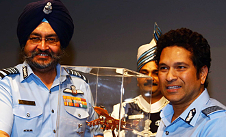 Special Screening of 'Sachin A Billion Dreams' Held For Indian Armed Forces