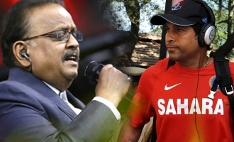 Sachin Tendulkar's emotional message on SP Balasubrahmanyam!