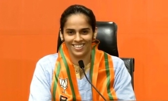 Breaking: Badminton star Saina Nehwal joins BJP