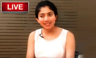 Sai Pallavi goes LIVE - Watch exclusively here