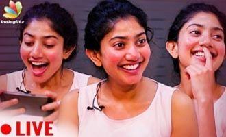LIVE : Suriya is My Biggest Crush | Sai Pallavi Interview
