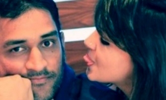 Happy birthday husband Sakshi Dhoni instagram status