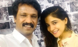 Sakshi Agarwal's Pongal celebration with Cheran!