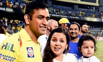 Sakshi Dhoni's heartfelt message after CSK fails to enter playoffs!