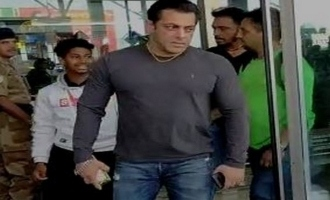 Salman Khan snatches cellphone from fan trying to take selfie - viral video