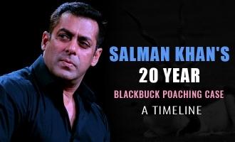 Salman Khan's 20 year blackbuck poaching case : A Timeline