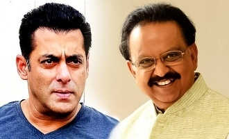 Salman Khan thanks SPB and shares an emotional message!