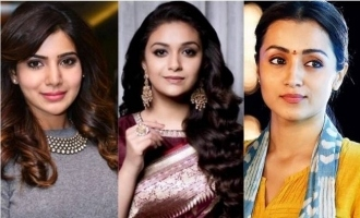 Samantha parties with Keerthy Suresh and Trisha - amazing pics and videos