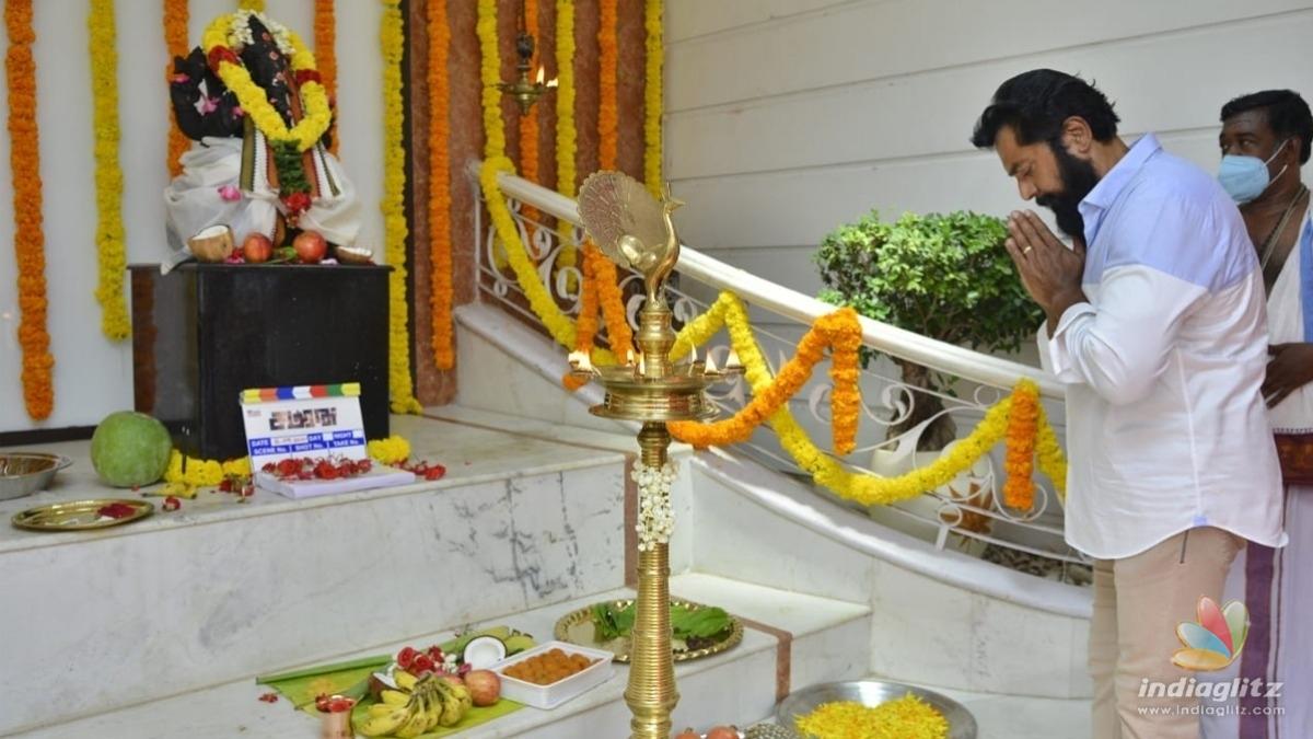 Sarath Kumar launches his next film after 'Ponniyin Selvan'! - Latest