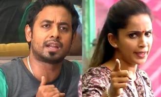 Bigg Boss 4 Aari shouts at Samyuktha, calls her one-sided!