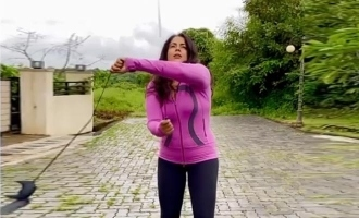 Sameera Reddy stuns netizens with unique skills in new video!
