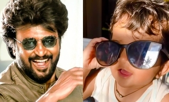 Sameera Reddy's daughter's cute Rajnikanth style video wins hearts!