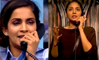 Bigg Boss 4 Samyuktha and Sanam Shetty's call filled with wrong words!