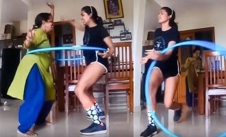 Comali Samyuktha Hegde's new dance video with mother turns viral!