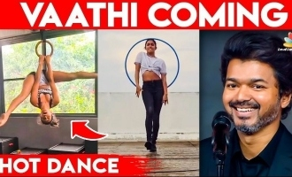 Young actress rocks with hot ring dance for Thalapathy Vijay