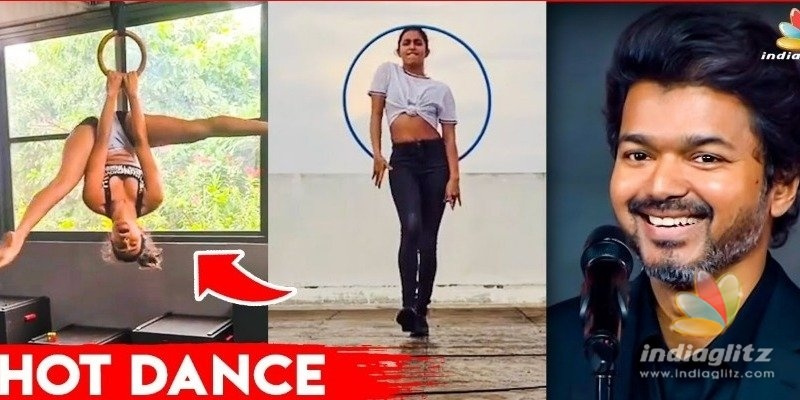 Comali actress rocks with ring dance for Thalapathy Vijay song