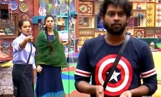 Biggboss Tamil season 4 Sanam and Anitha fight with Rio