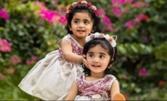 Popular TV actor and actress conduct auspicious function for their twin daughters