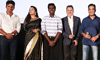 Kamal Launches 'Sangili Bungili Kadhava Thorae' Audio