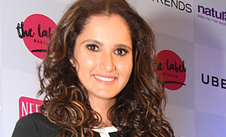 Sania Mirza Inaugurates The Label Bazaar In Chennai