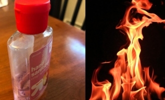 Man throws sanitizer on girlfriend's face and burns her for shocking reason