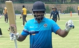 Sanju Samson fastest double century in 50 over match