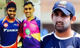 Gautam Gambhir slams comparison of Sanju Samson with MS Dhoni; fans angered