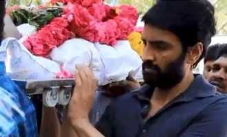 Santhanam attends his friend Dr. Sethuraman's funeral despite coronavirus lockdown
