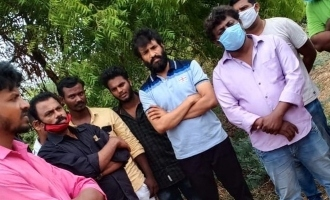 Santhanam braves coronavirus again to attend a funeral