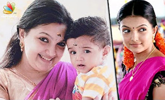 Actress Saranya Mohan's Post Pregnancy look