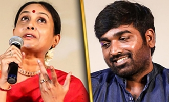 """A baby like face!"" Saranya Ponvannan on Vijay Sethupathi"