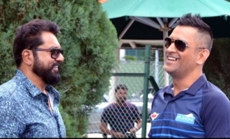 Sarathkumar supports MS Dhoni!