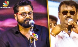 Vijayakanth : The Real Life Hero - Sarathkumar Emotional Speech