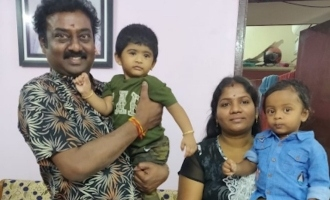 Saravanan's sudden visit to Sandy's house with family