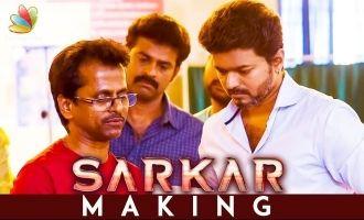 Vijay Fansku Ithu Thaan Original Diwali : Sarkar Art Director Santhanam Interview