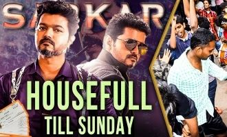 SARKAR Assured Housefull Till Sunday | Rakesh Gowthaman Vettri Theatres