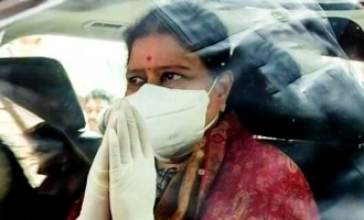 Actress Kasturi tweet about Sasikala discharge from hospital