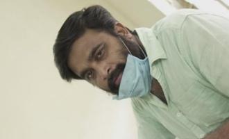 Sasikumar spends a day on the roads fighting against coronavirus