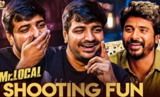 Full Fun with Sivakarthikeyan at Mr. LOCAL Sets : Sathish Reveals