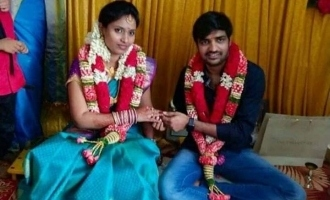 Comedy actor Sathish engaged ?