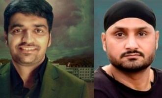 Harbhajan Singh's welcome message to Sathish