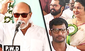 Sivaji Ganesan united Nadigar Sangam today : Sathyaraj Speech